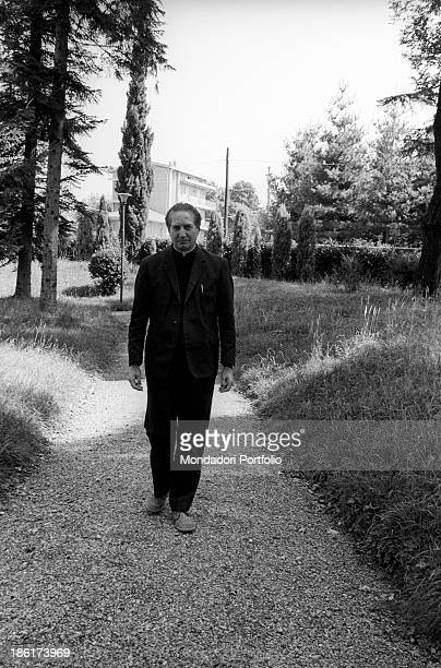 Italian catholic priest and biblist Carlo Maria Martini rector of the Pontifical Gregorian University in Rome and then consecrated cardinal and...