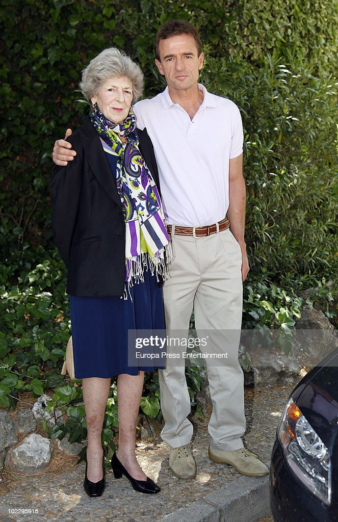 Alessandro Lequio And Sandra Torlonia Sighting In Madrid : News Photo
