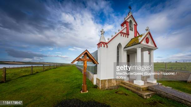 italian chapel - 1943 stock pictures, royalty-free photos & images