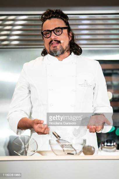 Italian Chef and Tv Host Alessandro Borghese attends the Cibo A Regola D'Arte 2019 at Fabbrica del Vapore on May 19 2019 in Milan Italy
