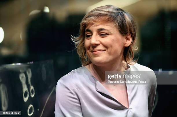Italian Chef Antonia Klugmann awardered during the 'World Food Dayl' at FICO AgriFood Park on October 16 2018 in Bologna Italy