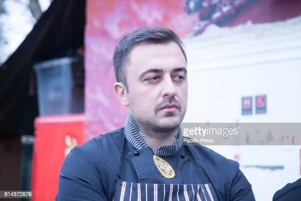 Italian chef Chef Rubio during the first anniversary of the project Pasto Sospeso in Casetta Rossa