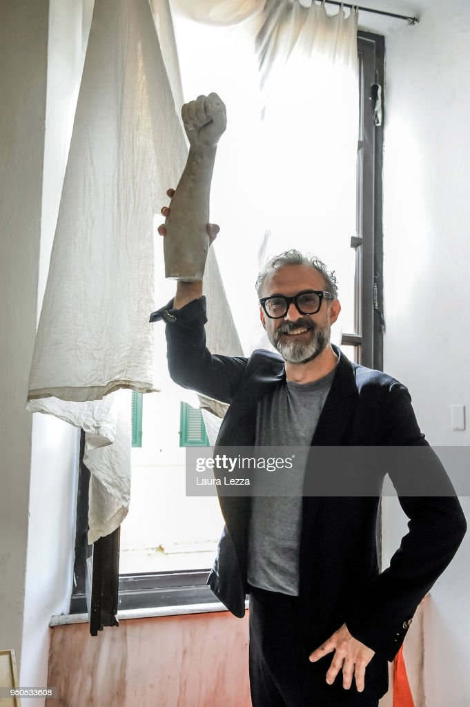 Chef Massimo Bottura Receives Honorary Degree In Carrara