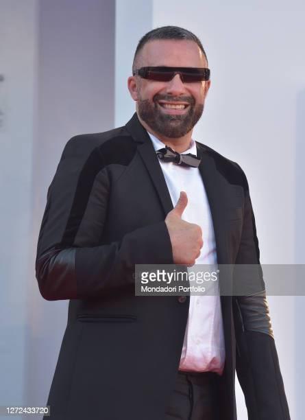Italian choreographer Luca Tommassini at the 77 Venice International Film Festival 2020 Closing ceremony red carpet Venice September 12th 2020