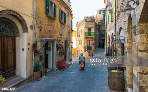Italian city Campiglia Marittima