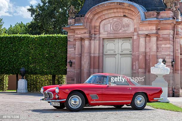 italian classic car maserati 3500 gt - man made age stock pictures, royalty-free photos & images