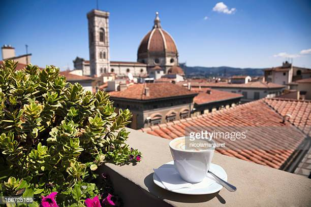 italian coffee:  florence cathedral - italy stock pictures, royalty-free photos & images