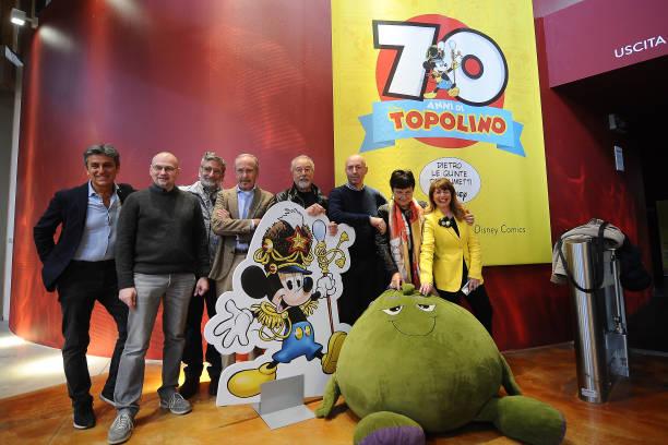 ITA: 'Topolino' Exhibition At FICO In Bologna