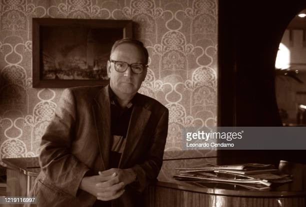 Italian composer Ennio Morricone Lido 10 settembre 1995