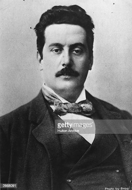 Italian composer Giacomo Puccini Writing operas absorbed most of his energies throughout his mature working life