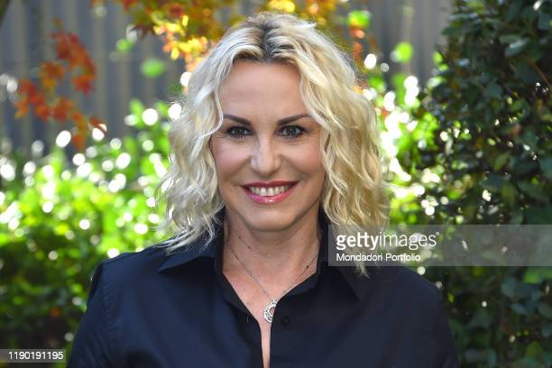 Italian conductor Antonella Clerici attend 62° Zecchino D'Oro photocall in the Rai studio viale Mazzini Rome November 26th 2019
