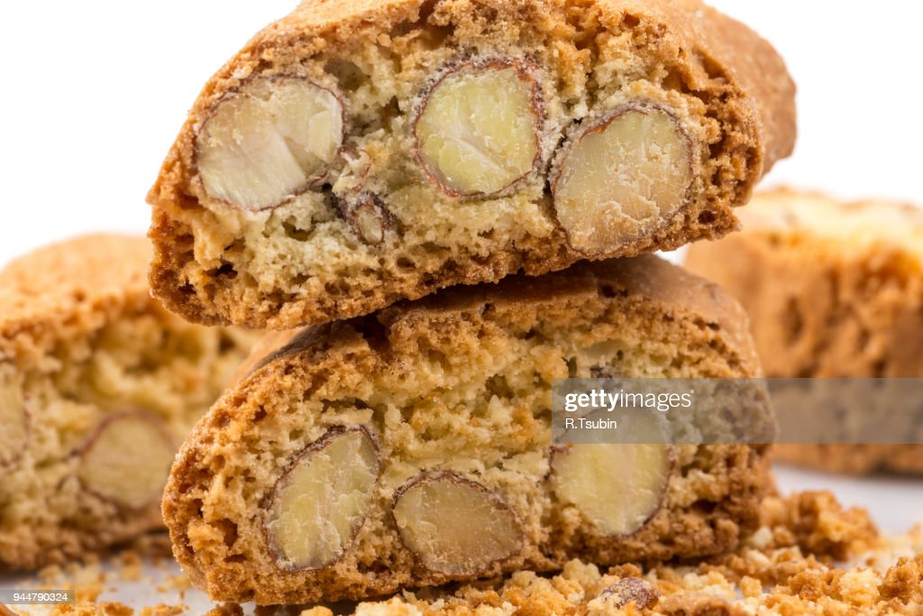 italian cookies close up : Stock Photo
