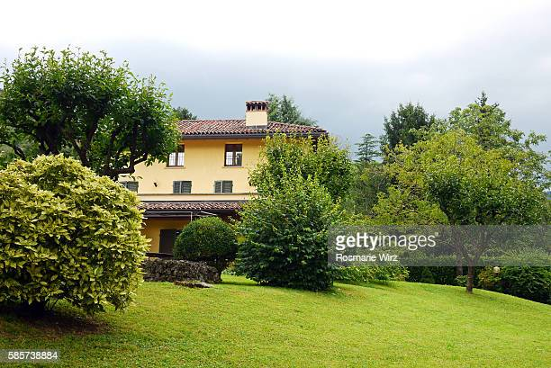 Italian country house and garden