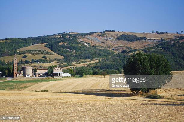 italian countryside at summertime - reggio emilia stock pictures, royalty-free photos & images