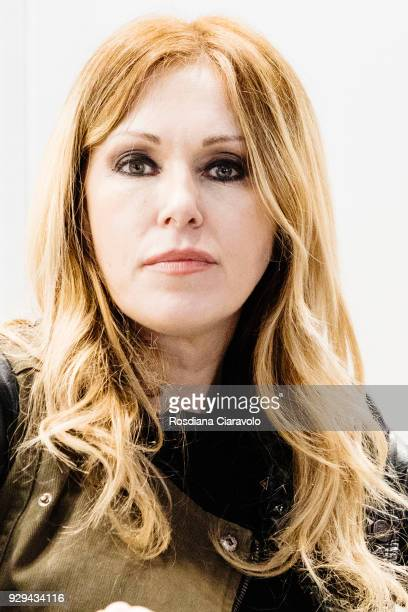 Italian Criminologist Roberta Bruzzone attends 'Tempo Di Libri' book show on March 8 2018 in Milan Italy