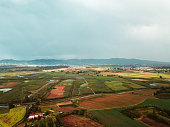 italian cultivated landscape italy