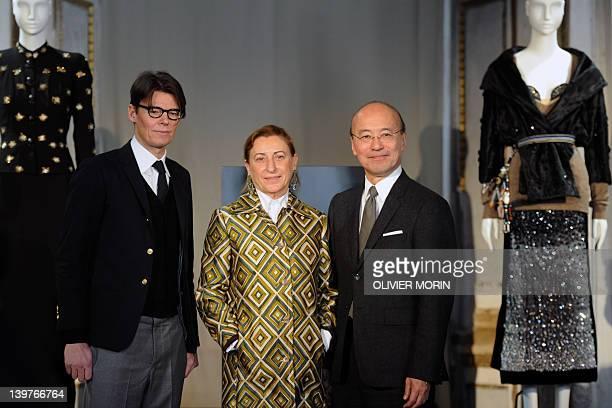 Miuccia Prada Fashion Designer Stock Photos and Pictures ...