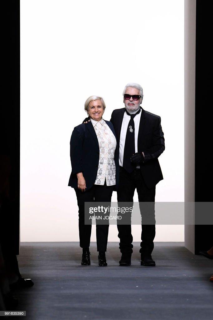 Italian Designer Silvia Venturini Fendi And German Fashion Designer News Photo Getty Images
