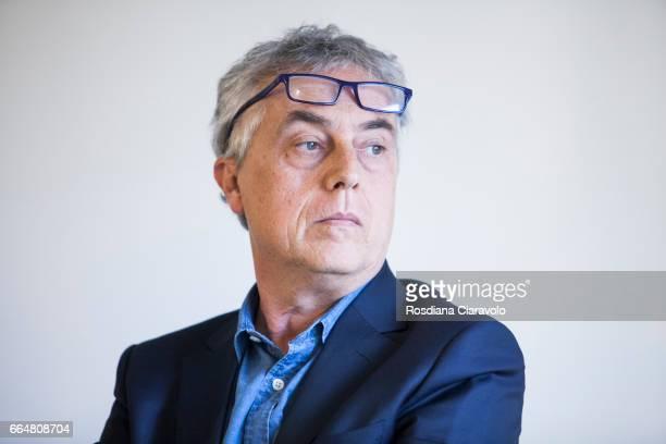 Italian Designer Stefano Boeri during the presentation of 'Fabio Novembre DesignArchitecture' at Mondadori Store on April 4 2017 in Milan Italy