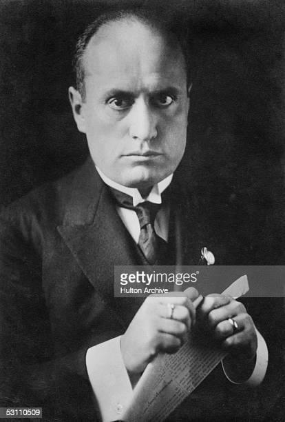 Italian dictator Benito Mussolini November 1923