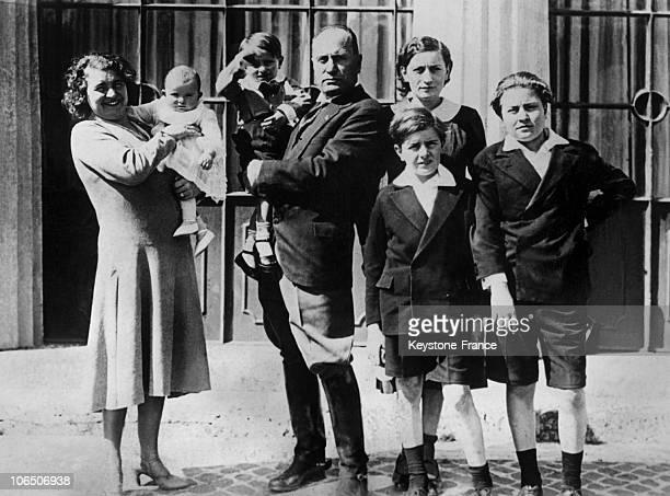 Matrimonio Romano Mussolini : Rachele mussolini foto e immagini stock getty images