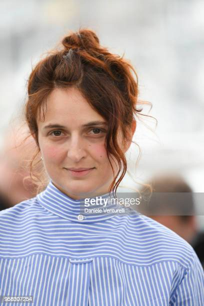 Italian Director Alice Rohrwacher attends the photocall for the 'Happy As Lazzaro ' during the 71st annual Cannes Film Festival at Palais des...