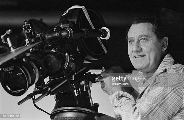 Italian director and actor Alberto Sordi in Cinecitta the famous Rome film studio