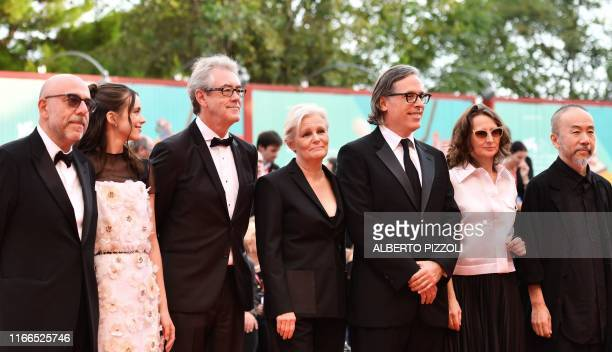 Italian director and Jury member of the 76th Venice Film Festival Paolo Virzi British actress and Jury member of the 76th Venice Film Festival Stacy...