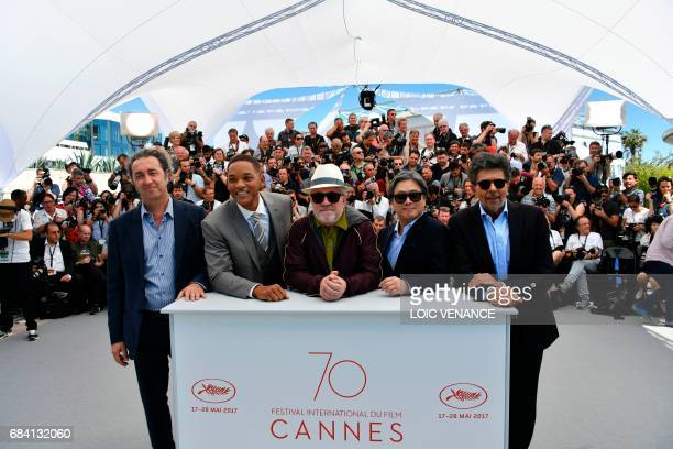 Italian director and member of the Feature Film jury Paolo Sorrentino, US actor and member of the Feature Film jury Will Smith, Spanish director and...