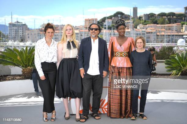 Italian director and member of the jury of the Cannes Film Festival Alice Rohrwacher, US actress and member of the jury of the Cannes Film Festival...
