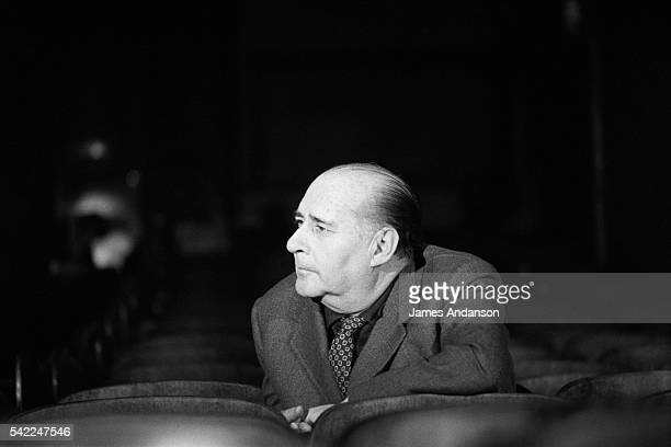 Italian director and screenwriter Roberto Rossellini