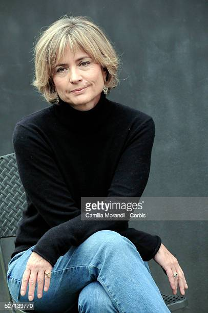 """Italian director Cristina Comencini at the photo call of """"Bianco e Nero"""" in Rome."""