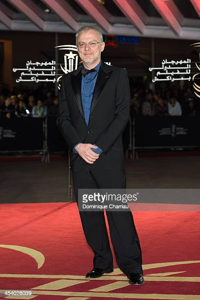 Italian director Daniele Luchetti attends the 'One Chance' Premiere during the13th Marrakech International Film Festival on December 6 2013 in...