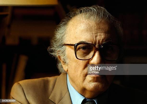 Italian Director Federico Fellini
