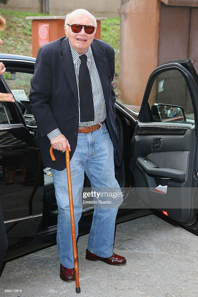 Italian director Francesco Rosi arrives at the David Di Donatello Awards at Studi Dear on June 10, 2014 in Rome, Italy.