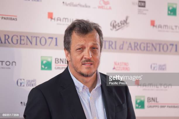 Italian director Gabriele Muccino during the photocall of the announcement of nominations to Nastri D'Argento 2017
