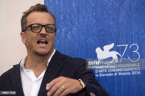 Italian director Gabriele Muccino poses during a photocall of the movie L'Estate Addosso presented out of competition at the 73rd Venice Film...