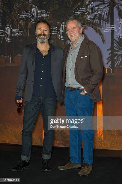 Italian Director Ivano de Matteo and Italian Producer Fabio Conversi attend a Photocall for the film 'Balancing Act' during the12th International...