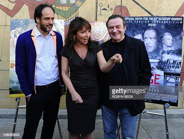 Italian director Luca Guadagnino nominated for the Golden Globe award for Best Foreign Language Film for I Am Love Danish director Susanne Bier...