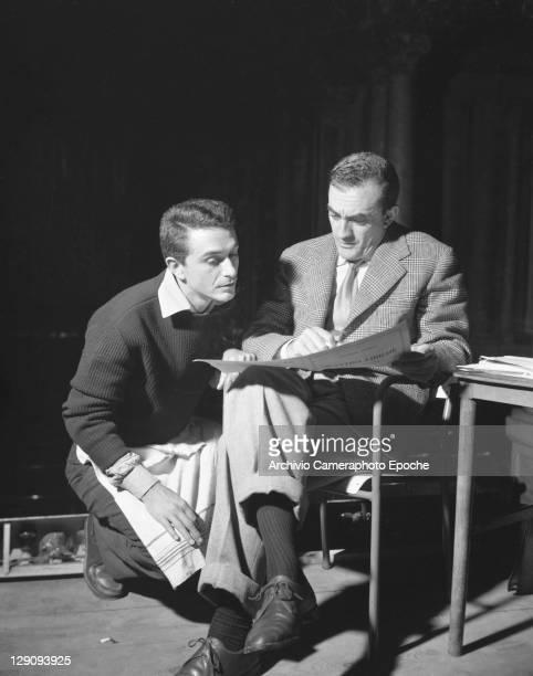 Italian director Luchino Visconti in Venice 1956