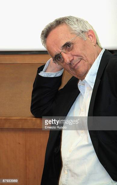 Italian Director Marco Bellocchio attends the Vincere screening at the Eden Cinema on May 22 2009 in Rome Italy