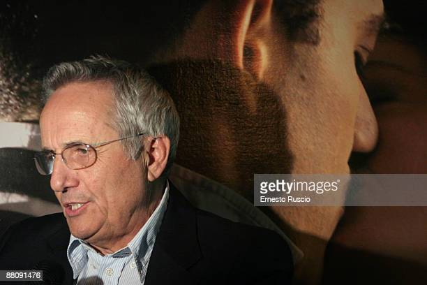 Italian Director Marco Bellocchio attends Vincere screening at the Eden Cinema on May 22 2009 in Rome Italy