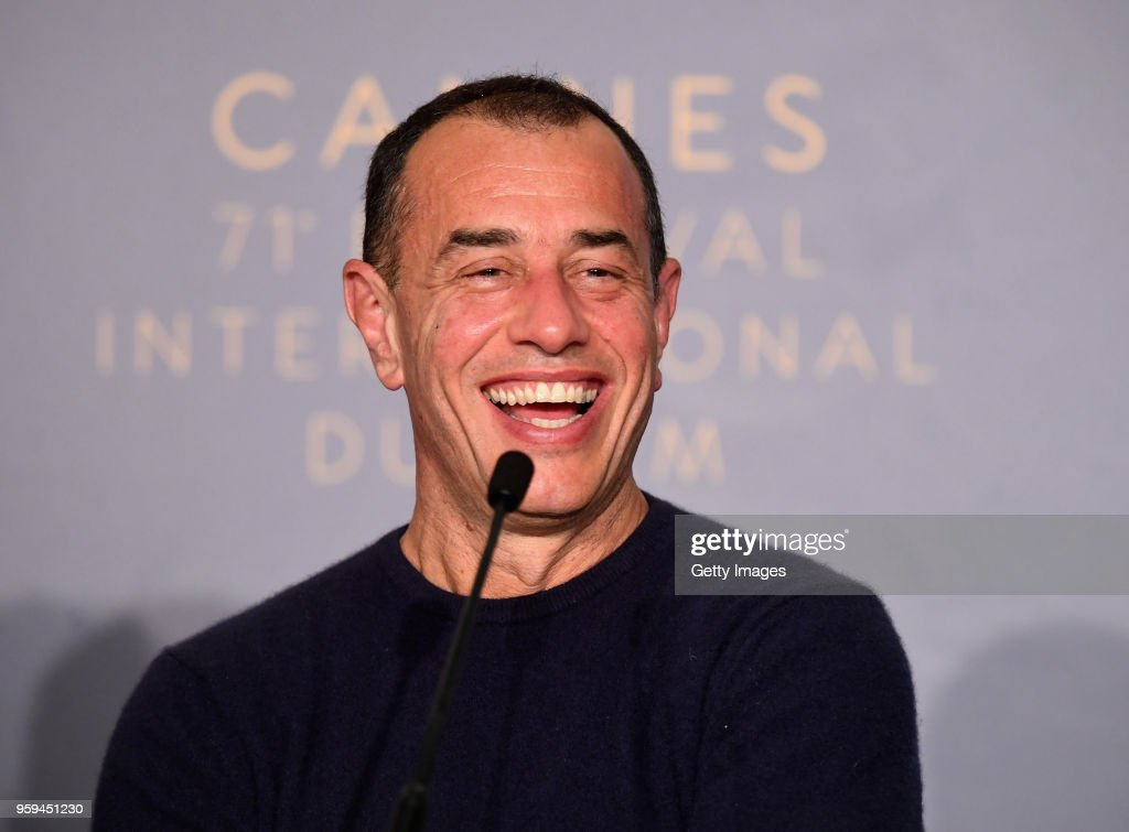 Italian director Matteo Garrone attends the 'Dogman' Press Conference during the 71st annual Cannes Film Festival at Palais des Festivals on May 17, 2018 in Cannes, France.
