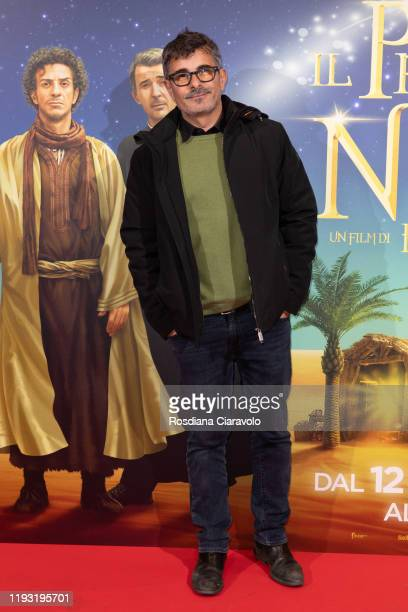 Italian Director Paolo Genovese attends the Il Primo Natale Photocall on December 10 2019 in Milan Italy