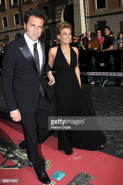 Italian director Paolo Sorrentino arrives at the Auditorium della Conciliazione for the David di Donatello Movie Awards ceremony on May 8 2009 in...
