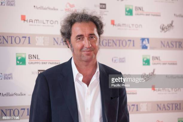 Italian director Paolo Sorrentino during the photocall of the announcement of nominations to Nastri D'Argento 2017