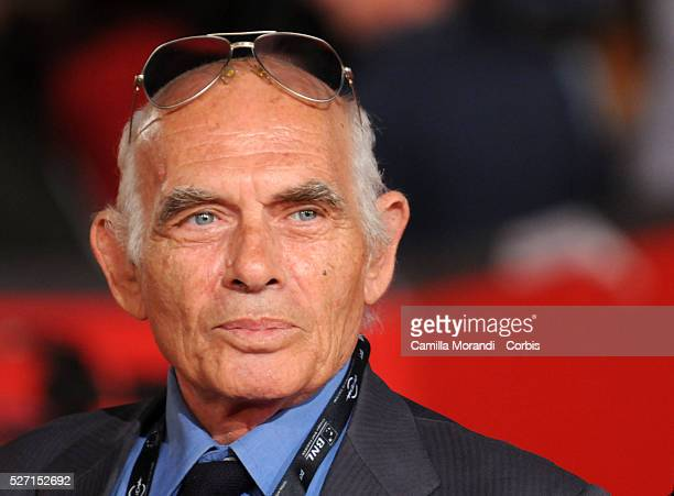 Italian director Pasquale Squitieri arrives at the opening ceremony of the 2008 Rome Film Festival