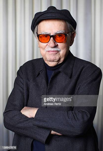 Italian director Vittorio Taviani attends 'Cesare deve Morire' Portrait Session during day four of the 62nd Berlin International Film Festival on...