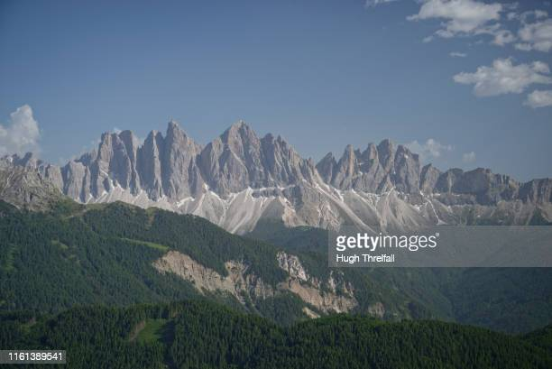 italian dolomites near plose, bressanone brixen - hugh threlfall stock pictures, royalty-free photos & images