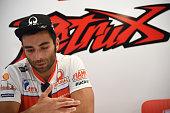 italian driver danilo petrucci team octo